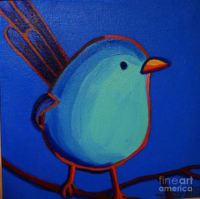 Painting - The Fairy Wren by Debra Bretton Robinson