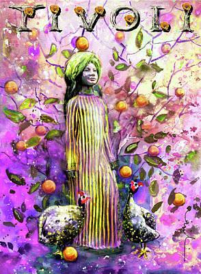 Painting - The Fakir Of Tivoli Gardens by Miki De Goodaboom