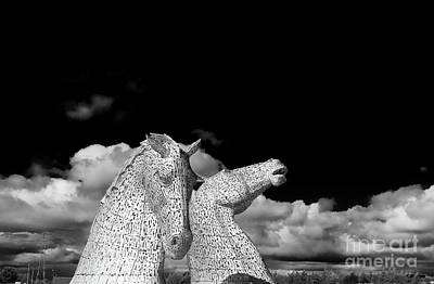 Photograph - The Falkirk Kelpies by Diane Macdonald