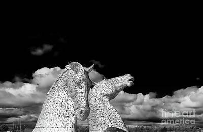 Photograph - The Falkirk Kelpies by Diane Macdonald