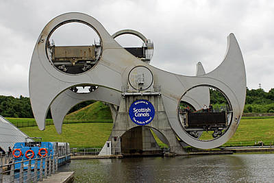 Photograph - The Falkirk Wheel by Tony Murtagh