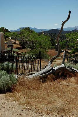 Silver Photograph - The Fallen Virginia City Nevada by LeeAnn McLaneGoetz McLaneGoetzStudioLLCcom