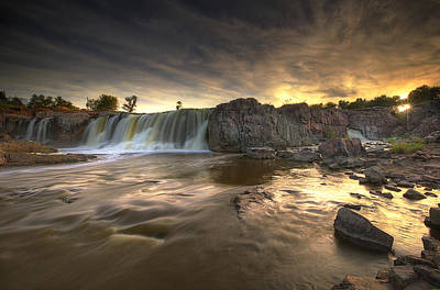 Farmhouse Rights Managed Images - The Falls Royalty-Free Image by Aaron J Groen