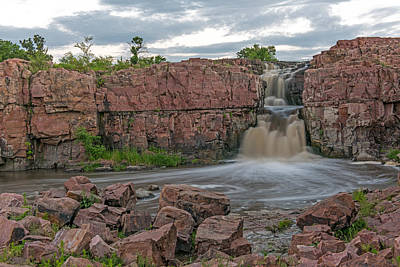 Photograph - Falls Park In  Sioux Falls South Dakota by Willie Harper