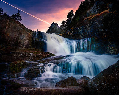 Shawn Photograph - The Falls At Flatrock by Shawn Hudson