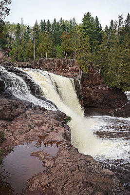 Photograph - The Falls by Bill Lere