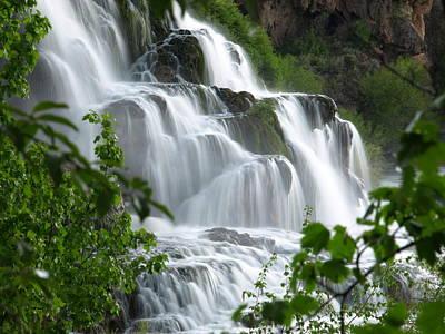 Photograph - The Falls by DeeLon Merritt