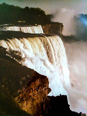 Photograph - The Falls by Ken Telesco