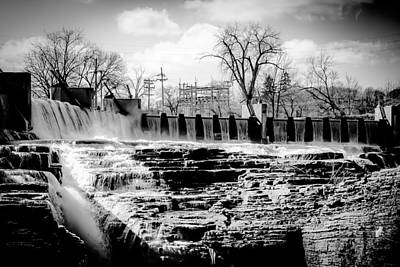 Photograph - The Falls by Kendall McKernon