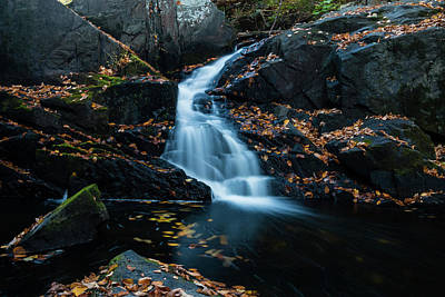 Photograph - The Falls Of Black Creek In Autumn II by Jeff Severson