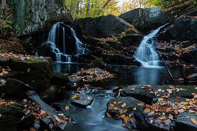 Photograph - The Falls Of Black Creek In Autumn IIi by Jeff Severson