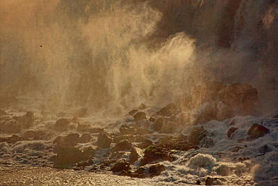 Photograph - The Falls Of Niagara by Theo O'Connor