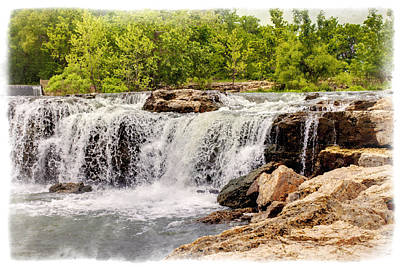 Photograph - The Falls by Ricky Barnard