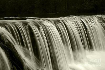 The Falls Art Print by Timothy Johnson