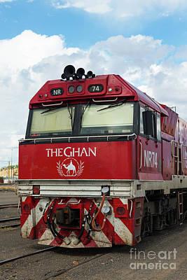 The Famed Ghan Train  Art Print