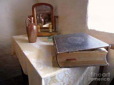 Photograph - The Family Bible by Susan Lafleur