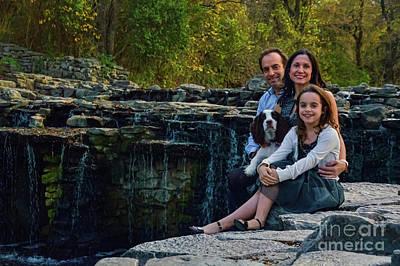Photograph - The Family by Diana Mary Sharpton