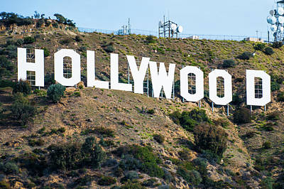 Photograph - The Famous Hollywood Sign In Hollywood California by Gregory Ballos
