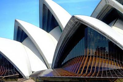 Photograph - The Famous Jaws Of The Sydney Opera House by Kirsten Giving