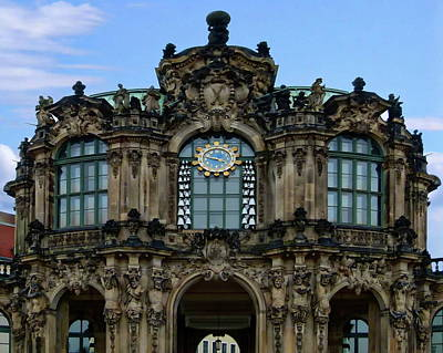 Photograph - The Famous Zwinger Palace by Anthony Dezenzio
