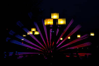 Photograph - The Fan Amount The Lights by Mark Dodd