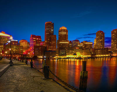 Photograph - The Fan Pier And Rowes Wharf 673 by Jeff Stallard
