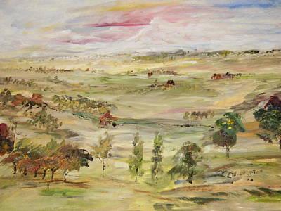 The Far Away Place Original by Edward Wolverton