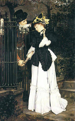 Sadness Painting - The Farewell by James Tissot