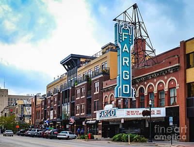 The Fargo Theater Art Print