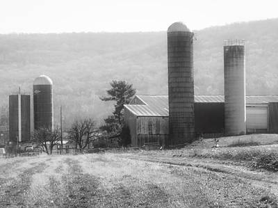 Photograph - The Farm-after Harvest by Robin Regan