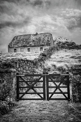 Photograph - The Farm Gate In  Ireland by Debra and Dave Vanderlaan