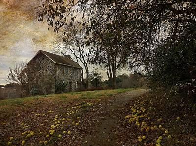 Photograph - The Farm House  by Delona Seserman