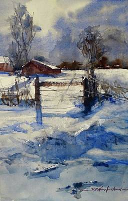 Painting - The Farm On Barry by Sandra Strohschein