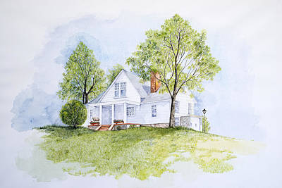 Charlottesville Painting - The Farm by Virginia McLaren