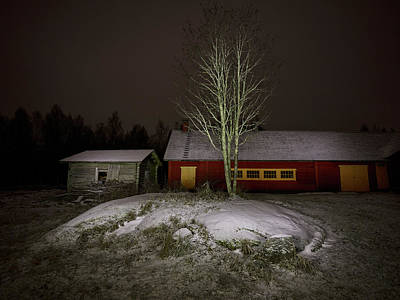 Photograph - The Farm Yard by Jouko Lehto