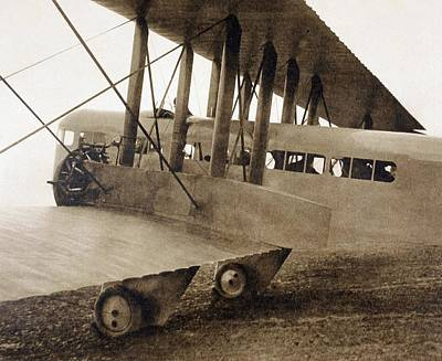 Passenger Plane Drawing - The Farman F.60 Goliath Passenger by Vintage Design Pics