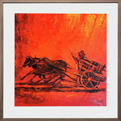 Openness Painting - The Farmer by Famous paintings Gurdish pannu