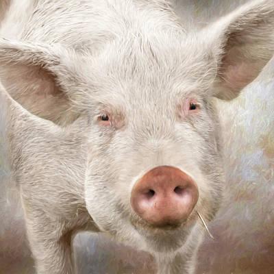 The Farmer's Hog Art Print