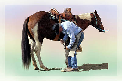 Photograph - The Farrier by Terrance Emerson