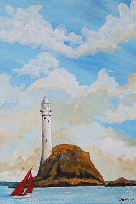 Painting - The Fastnet 1 by Phil Davis