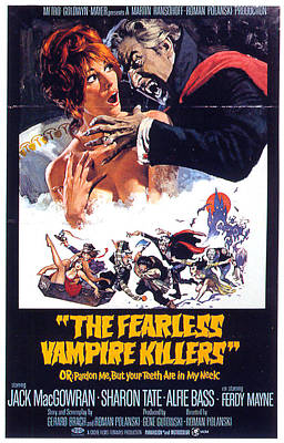 Polanski Digital Art - The Fearless Vampire Killers by Movieworld Posters