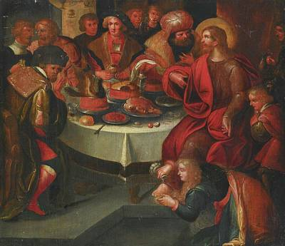 The Feast In The House Of Simon Art Print