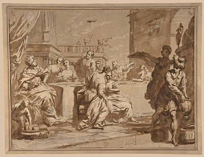 The Feast Of Belshazzar Art Print