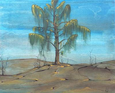 Painting - The Feather Tree by Pat Purdy