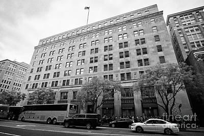 The Federal Election Commission Fec Building Washington Dc Usa Art Print by Joe Fox