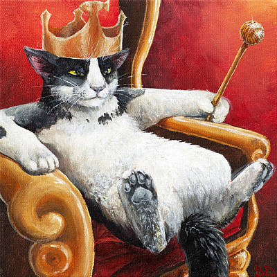 Painting - The Feline Perspective by Beth Davies