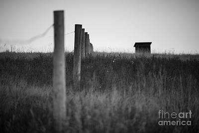 White Fence Photograph - The Fence by Ian McGregor
