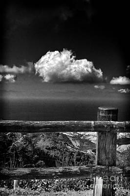 Photograph - The Fence by Silvia Ganora