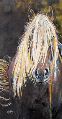 Melody Perez Painting - The Feral by Melody Perez