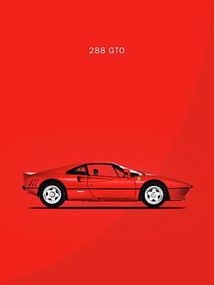 The Ferrari 288 Gto Art Print